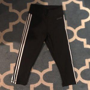 Adidas climalite crop leggings